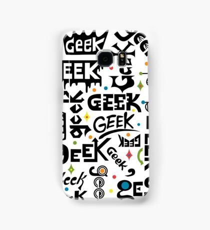 Geek Words Samsung Galaxy Case/Skin