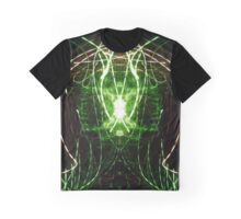 Neon Abstract Four Graphic T-Shirt