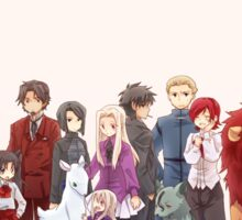 Fate Zoo Zero Sticker