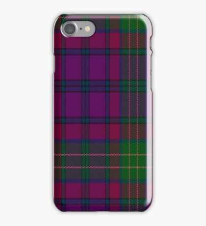 01460 Tartan Spirit  iPhone Case/Skin