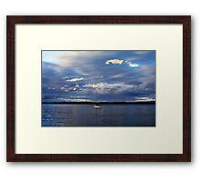Champlain Solitude Framed Print