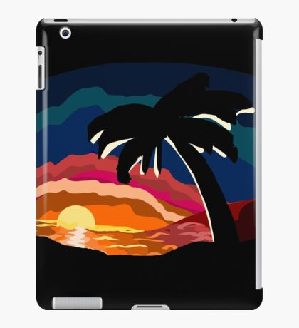 Tropical Sundown iPad Case/Skin