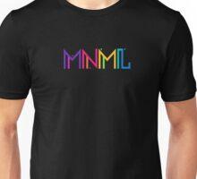 Minimal Type (Colorful Edm) Typography - Design Unisex T-Shirt