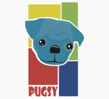 Pugsy Big Face and Colors Kids Clothes