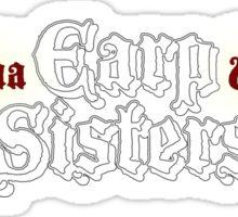 Earp Sisters Sticker