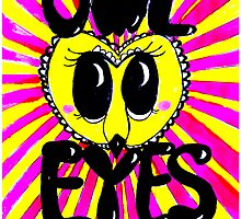 Owl Eyes Poster by wattsingtonart