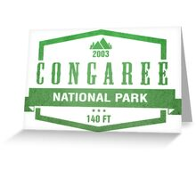 Congaree National Park, South Carolina Greeting Card