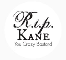 RIP Kane Sticker by Rachel  Higginson