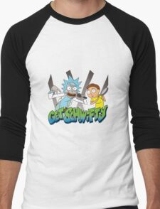 Rick And Morty - Get Schwifty Men's Baseball ¾ T-Shirt