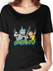 Rick And Morty - Get Schwifty Women's Relaxed Fit T-Shirt