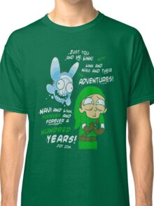 Rick And Morty - Just You And Me Link And Navi And Their Adventures Classic T-Shirt