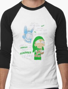 Rick And Morty - Just You And Me Link And Navi And Their Adventures Men's Baseball ¾ T-Shirt