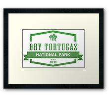 Dry Tortugas National Park, Florida Framed Print
