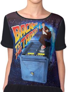 Time and Space Surfer Chiffon Top