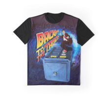 Time and Space Surfer Graphic T-Shirt