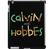 Calvin & the hobbes  iPad Case/Skin