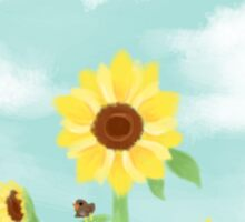 .sunflower. Sticker