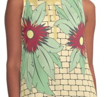 growing flowers on concrete Contrast Tank