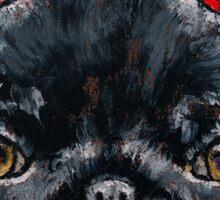 Devil Pug Sticker