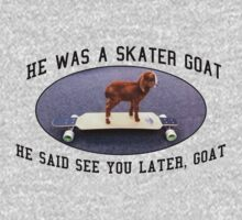 Skater Goat Kids Clothes
