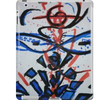 Red and blue iPad Case/Skin