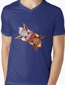 shiny and normal eevee Mens V-Neck T-Shirt