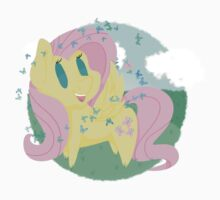 Butterfly Chibi Fluttershy One Piece - Short Sleeve