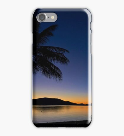 palms in paradise iPhone Case/Skin