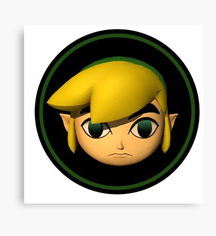 Windwaker Link Canvas Print