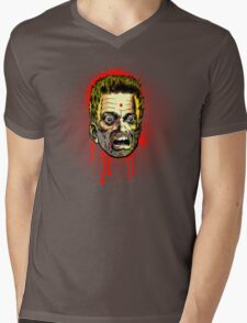 Bullet Head Mens V-Neck T-Shirt
