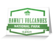 Hawai'i Volcanoes National Park, Hawaii Greeting Card