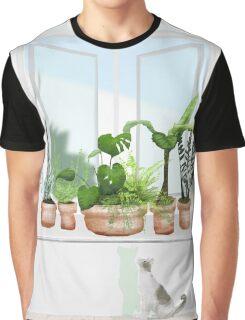 Vulnerable Position Graphic T-Shirt