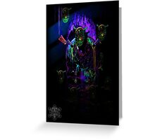 Cave of Alien Artifacts Greeting Card