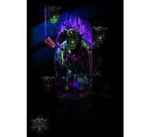 Cave of Alien Artifacts Photographic Print