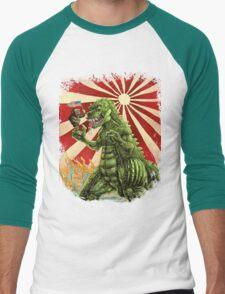 MINE'S BIGGER THAN YOURS Men's Baseball ¾ T-Shirt
