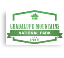 Guadalupe Mountains National Park, Texas Canvas Print