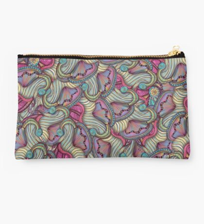 Mermaid Seashells Studio Pouch