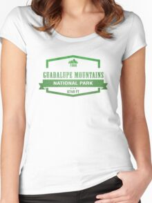 Guadalupe Mountains National Park, Texas Women's Fitted Scoop T-Shirt
