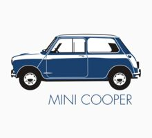 Mini Cooper Mark 1 blue by car2oonz