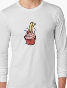 Alien Cupcake Long Sleeve T-Shirt