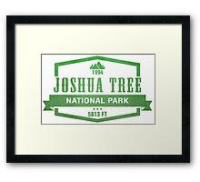 Joshua Tree National Park, California Framed Print