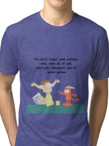 Rick and Morty: Gazorpazorpfield Tri-blend T-Shirt