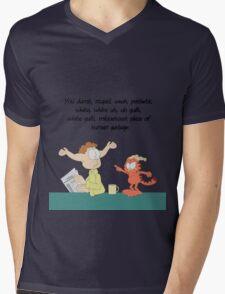 Rick and Morty: Gazorpazorpfield Mens V-Neck T-Shirt
