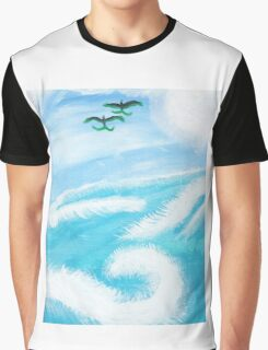 The Sea And Jade Birds Graphic T-Shirt