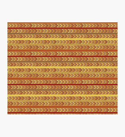 Striped Arrows Photographic Print