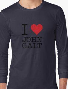 I Heart John Galt Long Sleeve T-Shirt