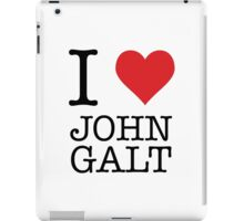 I Heart John Galt iPad Case/Skin