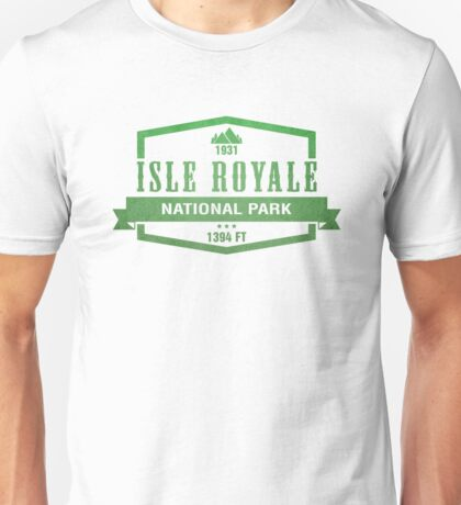 Isle Royale National Park, Michigan Unisex T-Shirt
