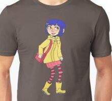 The name's Coraline Unisex T-Shirt