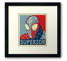 Superior Framed Print